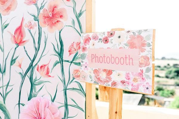 Βάπτιση photobooth