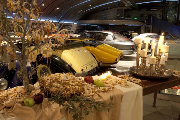 Ελληνικό Μουσείο Αυτοκινήτου Αίθουσα Δεξιώσεων για Βάπτιση