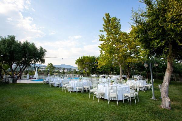 Κτήμα Ποταμίδα Δεξίωση Γάμου Σπάτα Παλλήνη